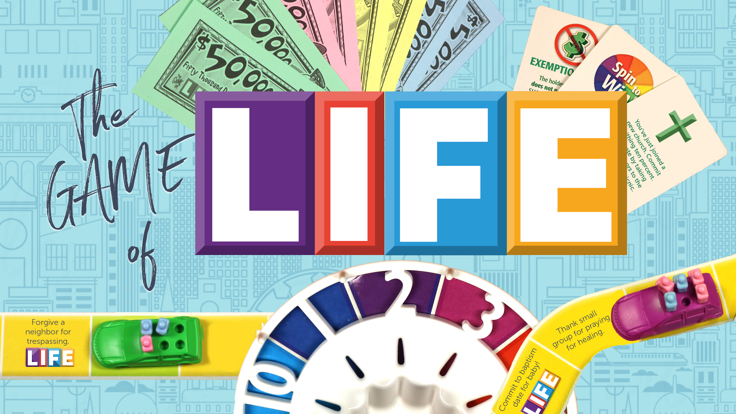 The Game of Life Sermon Series - Graphic